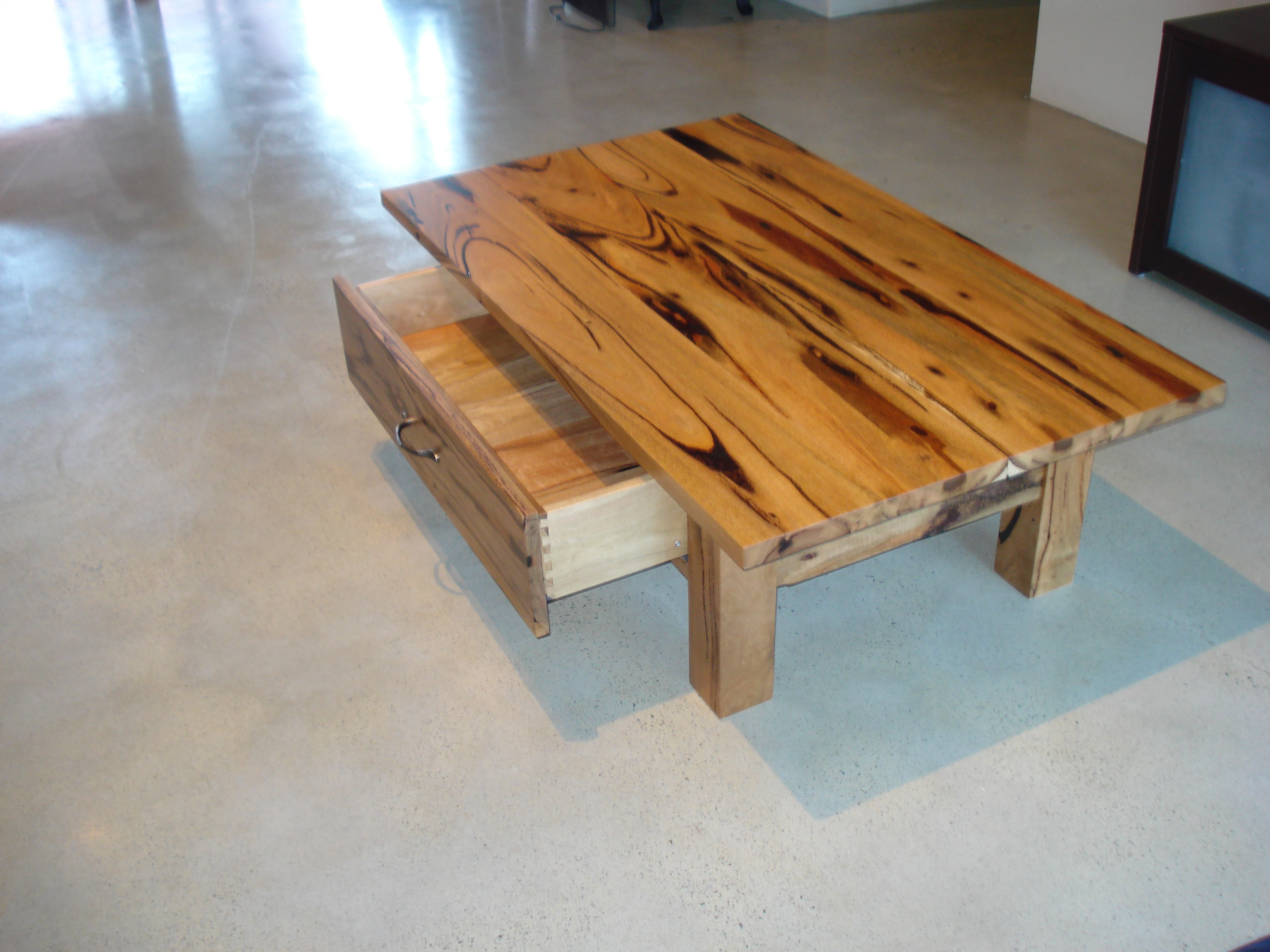 marri and jarrah coffee tables