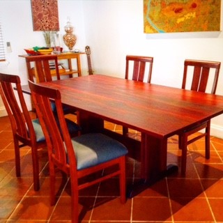 Jarrah Dining Table North Perth In Oil Finish